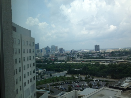 Nationwide Children's Hospital does give you some pretty good views, I will tell you that!